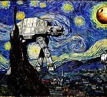 Starry Night versus the Empire by KAMonkey