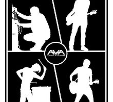 Ava Angels and airwaves band group by Jonrabbit