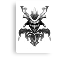 Samurai XYZ Canvas Print