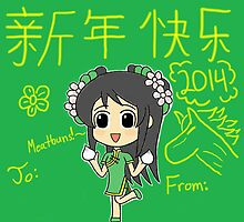 Dynasty Warriors Chinese/Lunar New Year Card #2 by gaming123456