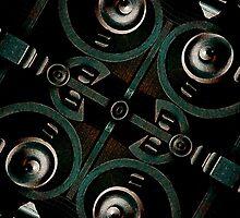 Futuristic Iron Structrure by DFLC Prints