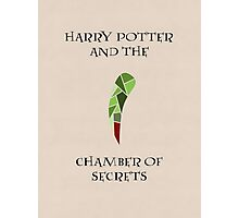 Harry Potter 2 Minimalist Poster Photographic Print