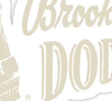 brooklyn dodgers 2 Sticker