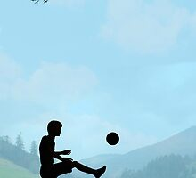 Childhood Dreams, Football by John Edwards