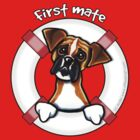 Boxer First Mate by offleashart