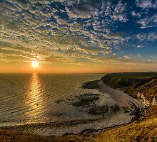 Flamborough Head Sunset  by Neil Cameron