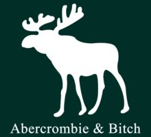 Abercrombie and Bitch by capitaldesign