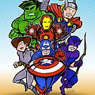 Mighty Heroes by Patrick Scullin