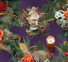 Christmas bouquets by Arie Koene