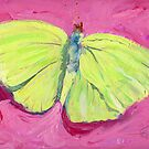 Green Butterfly by COusley622