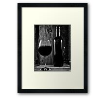 Wine Song Framed Print