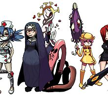 SkullGirls by KanjiWest