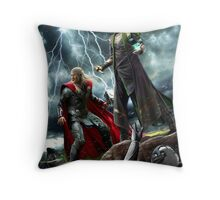 Control and Chaos Throw Pillow