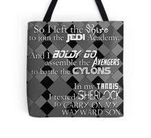 ALL the Fandoms Tote Bag