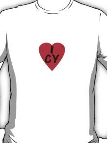 I Love Cyprus - Country Code CY T-Shirt & Sticker T-Shirt