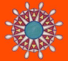 Council of Twelve Mandala #1 Kids Clothes