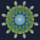 Council of Twelve Mandala #2 by TheMandalaLady