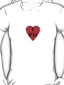 I Love Philippines - Country Code PH T-Shirt & Sticker T-Shirt