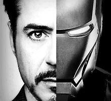 iron man/ tony stark by mudblood3