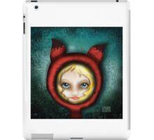 Whimsical Fox Girl iPad Case/Skin