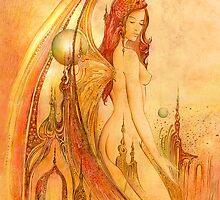 Angel's Stroll by Anna Miarczynska
