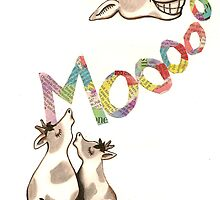 The Cows Often Mooed, When in a Good Mood by Catherine Snodgrass