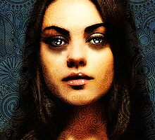 Portrait of Mila Kunis #1 by Andre Martin