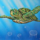Sea Turtle by StephenLTurner