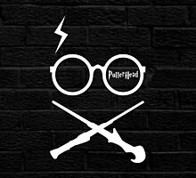 Fandom 1 - Potter Head Blk by emodist