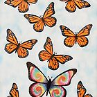 Tie Dye Butterfly by StephenLTurner