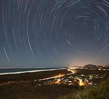Mt Emu Star Trails by James Ray