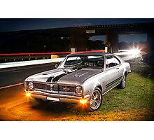 Kurt Davis' Holden Monaro GTS Photographic Print