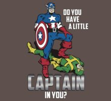 Do You Have A Little CAPTAIN in you? by Mike Pitcher