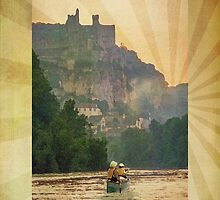 Ipad: Canoe Dordogne by Steven House