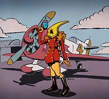 The Rocketeeress by artofmiggy