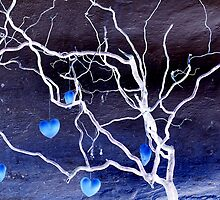 Tree of hearts by Arie Koene