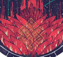 Fading Dahlia Sticker