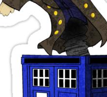 Jack in the Blue Box Sticker
