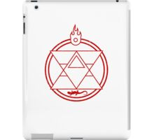Flame Transmutation Circle iPad Case/Skin