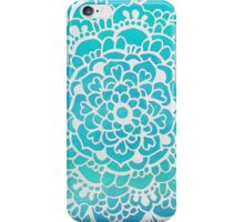 Aqua Turquoise Sparkle iPhone Case/Skin