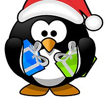 Santa Claus Penguin by kwg2200