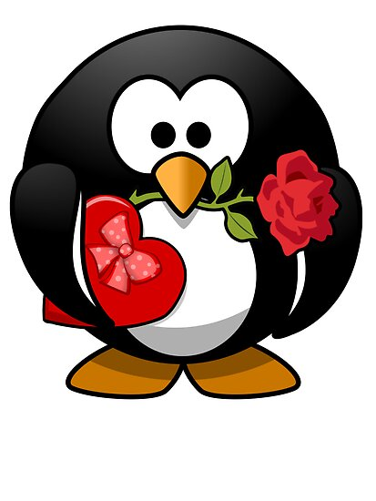 Valentine's Day Penguin by kwg2200