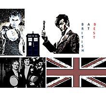 British At Best.  Photographic Print