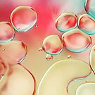 Oil Drops with Blush Pink by Sharon Johnstone