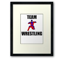 Team Wrestling Framed Print