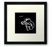 Space is right here!! All over the place Framed Print
