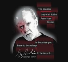 george carlin by redboy