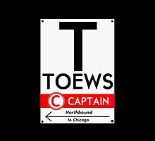 Toews Phone Case (Black)  by mightymiked