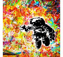 Space is right here!! All over the place COLORS Photographic Print