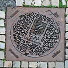 Draincover in the Olympic town of Lillehammer - Norway by Arie Koene